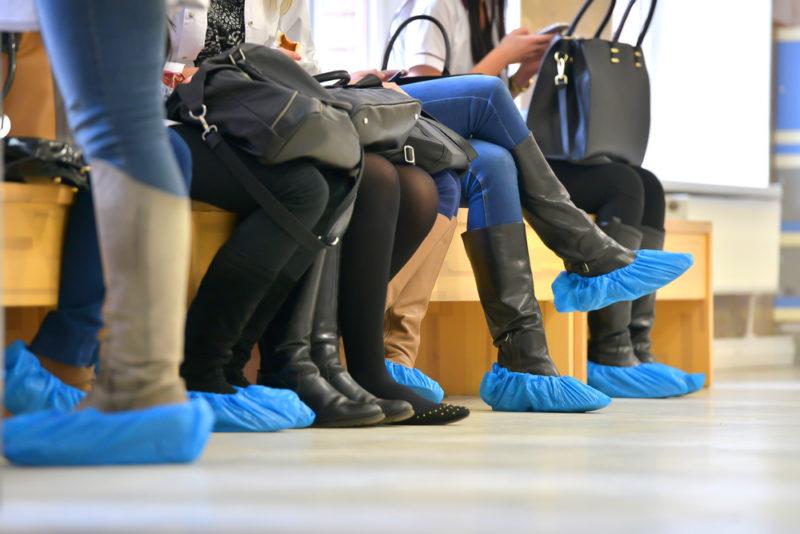 cubrezapatos desechables
