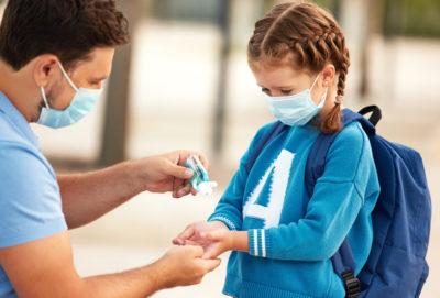 desinfectantes contra covid-19 para niños